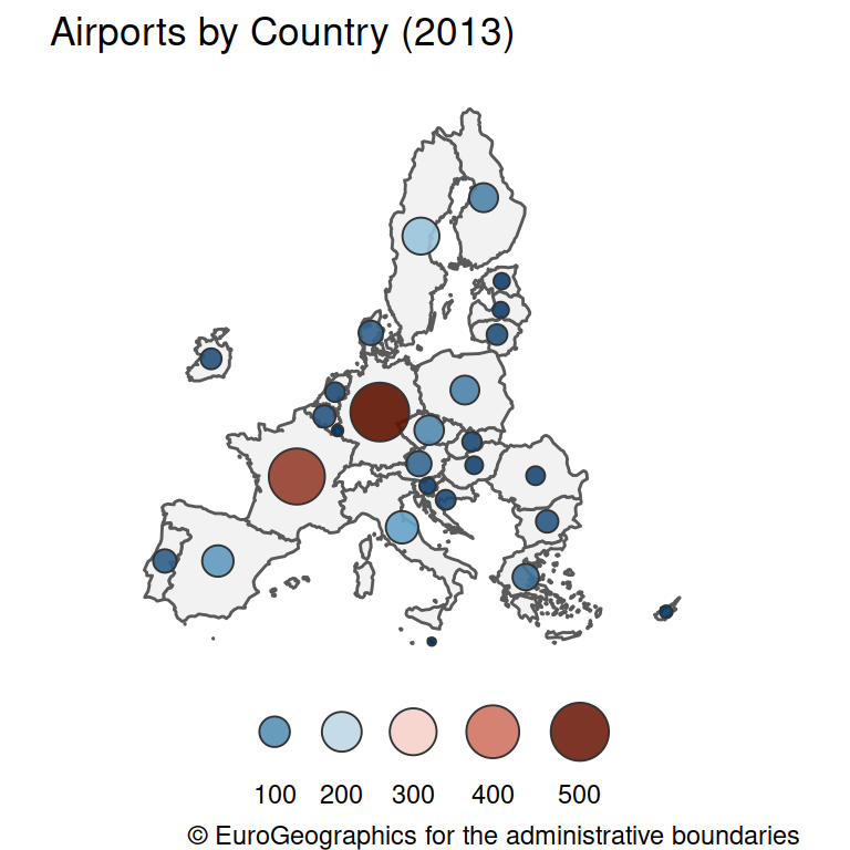 Proportional symbol maps in ggplot2